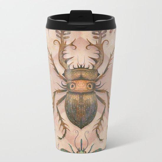 Entomology Tab. I Metal Travel Mug