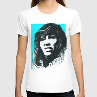 tina T-shirts featuring Tina Turner by ChrisGreavesArt