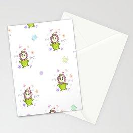 Peep peep flower Stationery Cards
