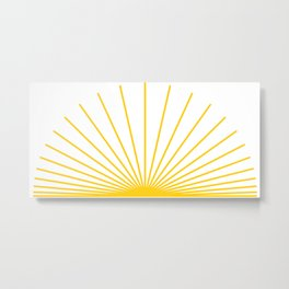 Ray of sunshine Metal Print