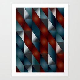 Pattern #5 Tiles Art Print