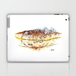 Sleuthing for Fossils Laptop & iPad Skin