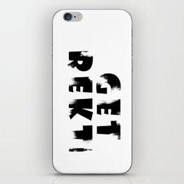Get Rekt iPhone Skin