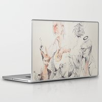 bees Laptop & iPad Skins featuring Bees by Brian Jarrell