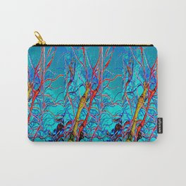Psychedelic Trees Carry-All Pouch