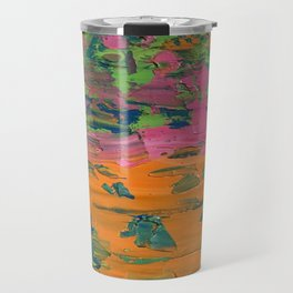 Flaky Paint Travel Mug