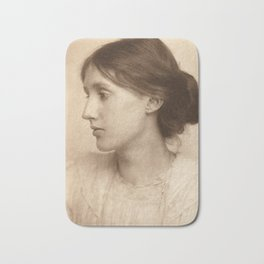 Virginia Woolf Vintage Photo,1902 Bath Mat