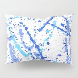 Eclats bleus Pillow Sham