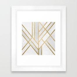 Art Deco Geometry 2 Framed Art Print