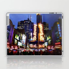 'Times Square NYC ~ BRIGHT LIGHTS' Laptop & iPad Skin