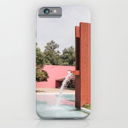 Barragan architecture iPhone Case