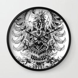 Heraldic Phoenix Wall Clock