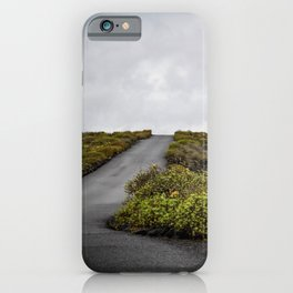 Volcanic landscape of Lanzarote - travel photography iPhone Case