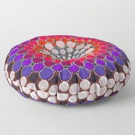 Warm Circus - Mandala Floor Pillow
