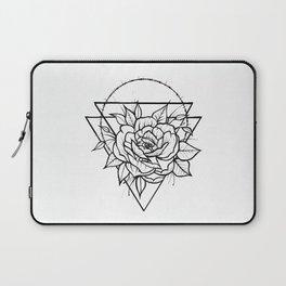 Crown Of Thorns - B&W Laptop Sleeve