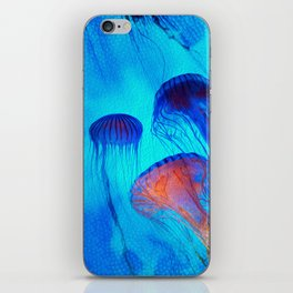 Watch the Flow of the Jelly Glow  iPhone Skin
