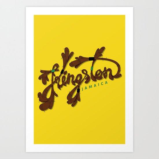 Kingston Art Print