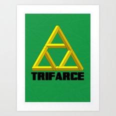 Trifarce Art Print