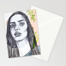 Mixed Media Sketch Stationery Cards
