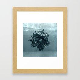 Kaos VII Framed Art Print