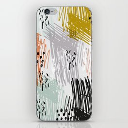 A quiet rage iPhone Skin