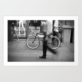 Bicycle is waiting for you Art Print