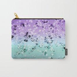 Mermaid Lady Glitter Stars #4 #shiny #decor #art #society6 Carry-All Pouch