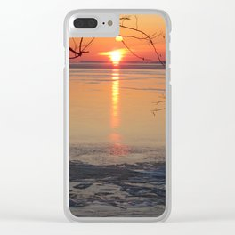 Walking towards solstice Clear iPhone Case