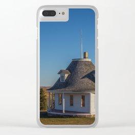 Hurd Round House, Wells County, North Dakota 12 Clear iPhone Case
