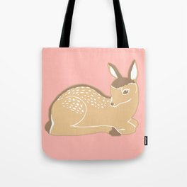 White-Tailed Deer Fawn Tote Bag