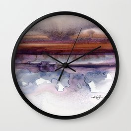 Introspection No. 15 by Kathy Morton Stanion Wall Clock