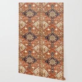 Sarouk Poshti Persian Rug Print Wallpaper