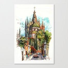 Calle Aldama, San Miguel de Allende Canvas Print