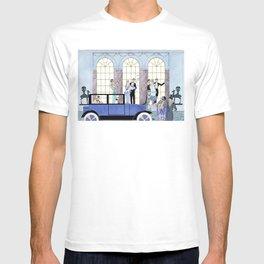 Au Revoir, vintage fashion illustration by George Barbier for Joie de Vivre  T-shirt