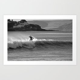 Cold Water Surf Art Print