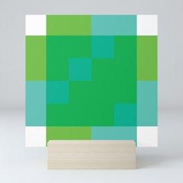 Ocean Pixel Views Mini Art Print