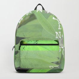Plant Zone Do Not Disturb Backpack