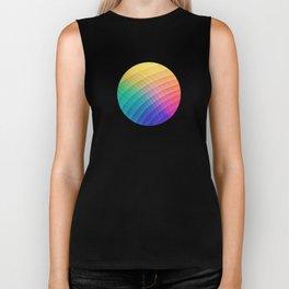 Spectrum Bomb! Fruity Fresh (HDR Rainbow Colorful Experimental Pattern) Biker Tank