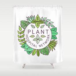 Plant Hospital Network Shower Curtain