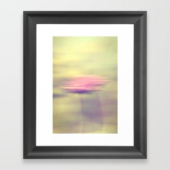 Pastel Framed Art Print