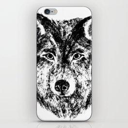 Lone Wolf iPhone Skin