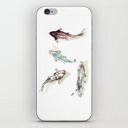 Koi Fish Watercolour iPhone Skin
