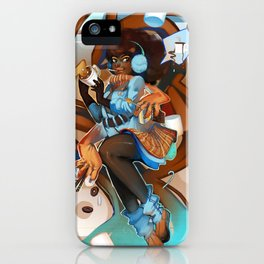 Haute Cocoa iPhone Case