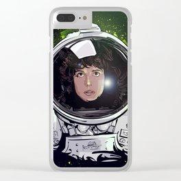 Ellen Ripley 1 Clear iPhone Case