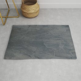 Slate Gray Stucco - Faux Finishes - Rustic Glam - Corbin Henry Venetian Plaster Rug