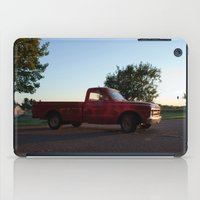 truck iPad Cases featuring Truck by Bex Finch