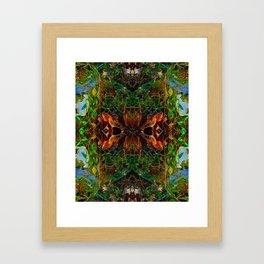 The Webs We Weave Framed Art Print