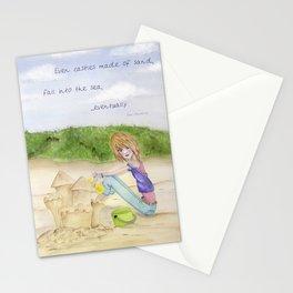 Sand Castles - Oregon Coast Stationery Cards