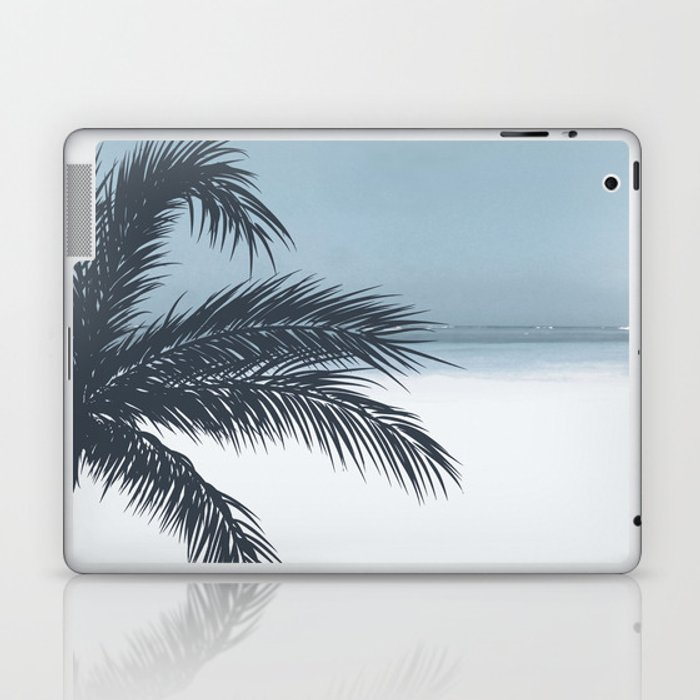 Palm and Ocean Laptop & iPad Skin