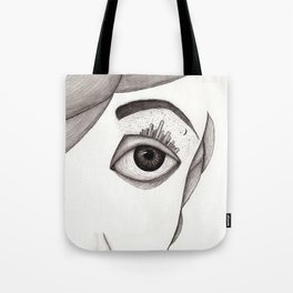 City-eye Tote Bag
